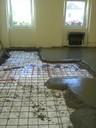 Az utcai szoba aljzatszigetelése 2008-ban
